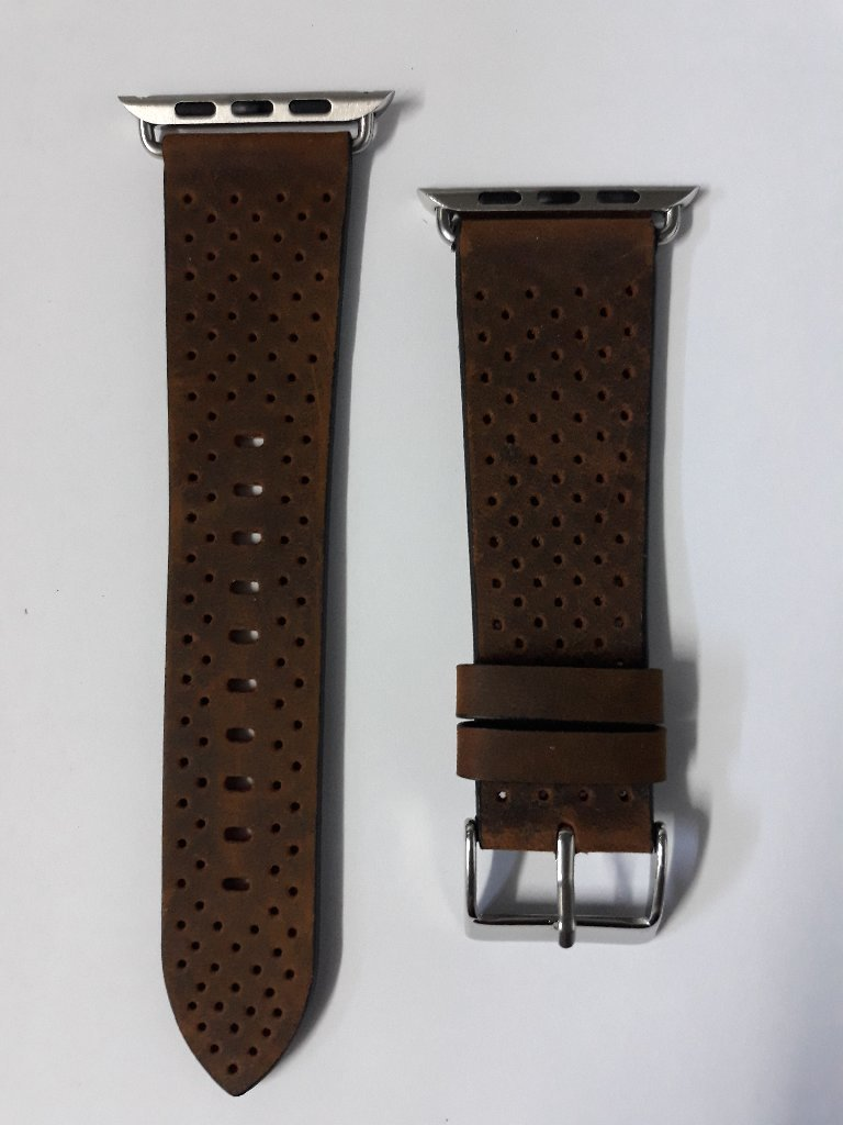 Apple watch series3 leather band 42mm
