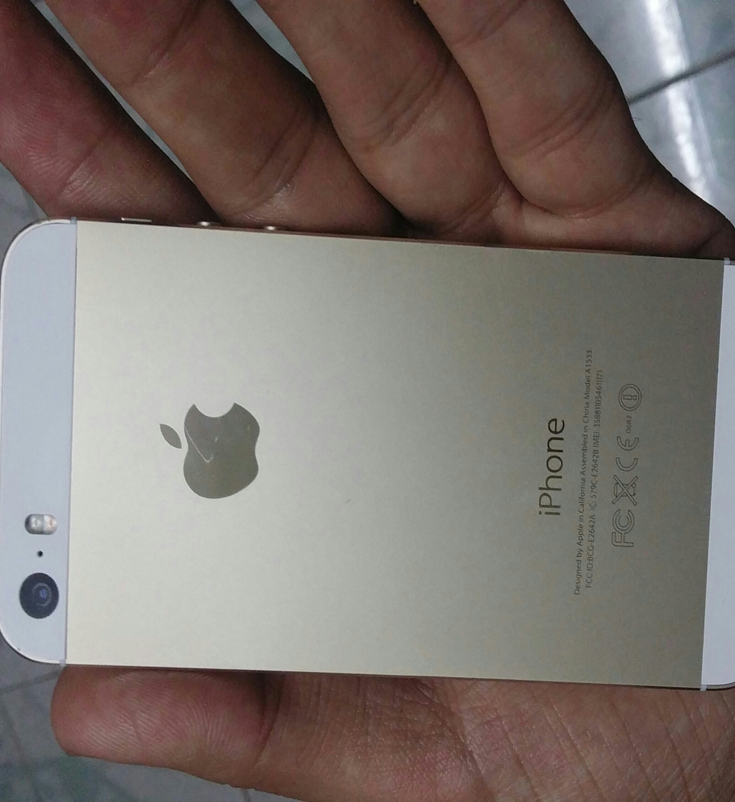 IPhone 5s Gold 16 Gb Excellent