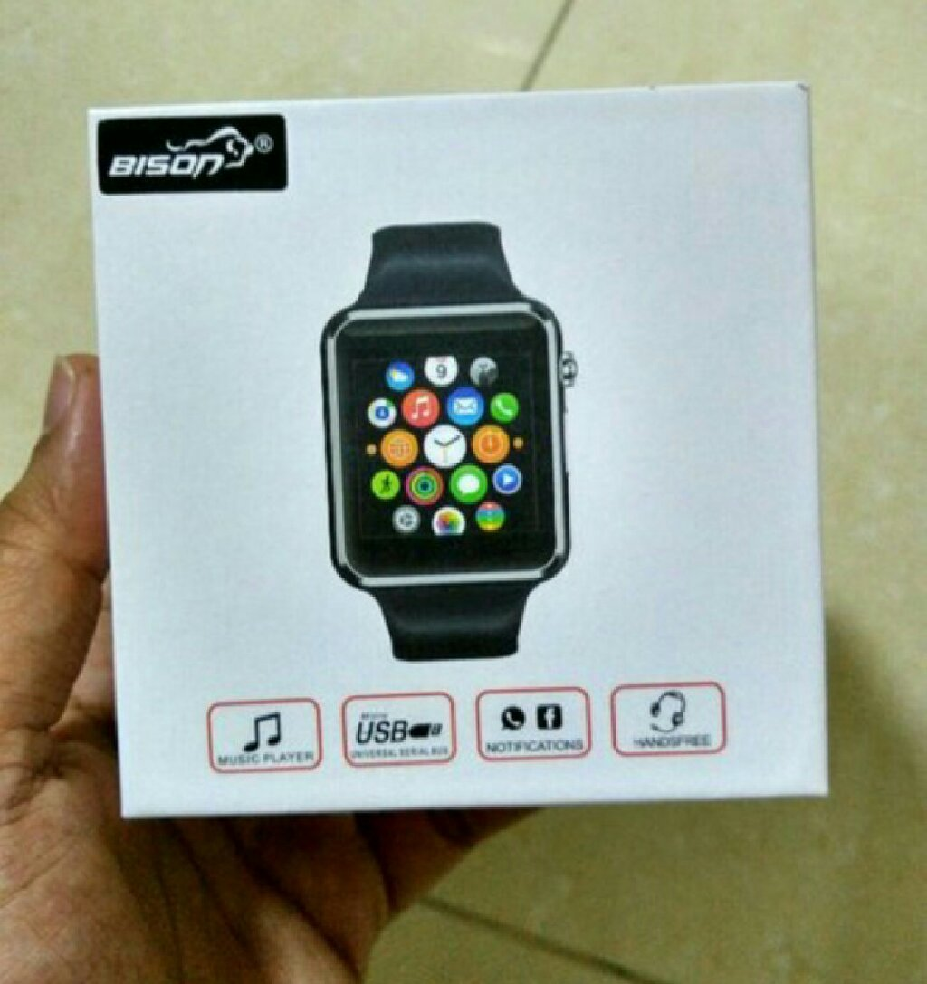 Smart watch with SD and sim slot