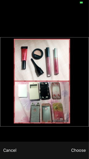 Bundle of make up and iphone 6 case