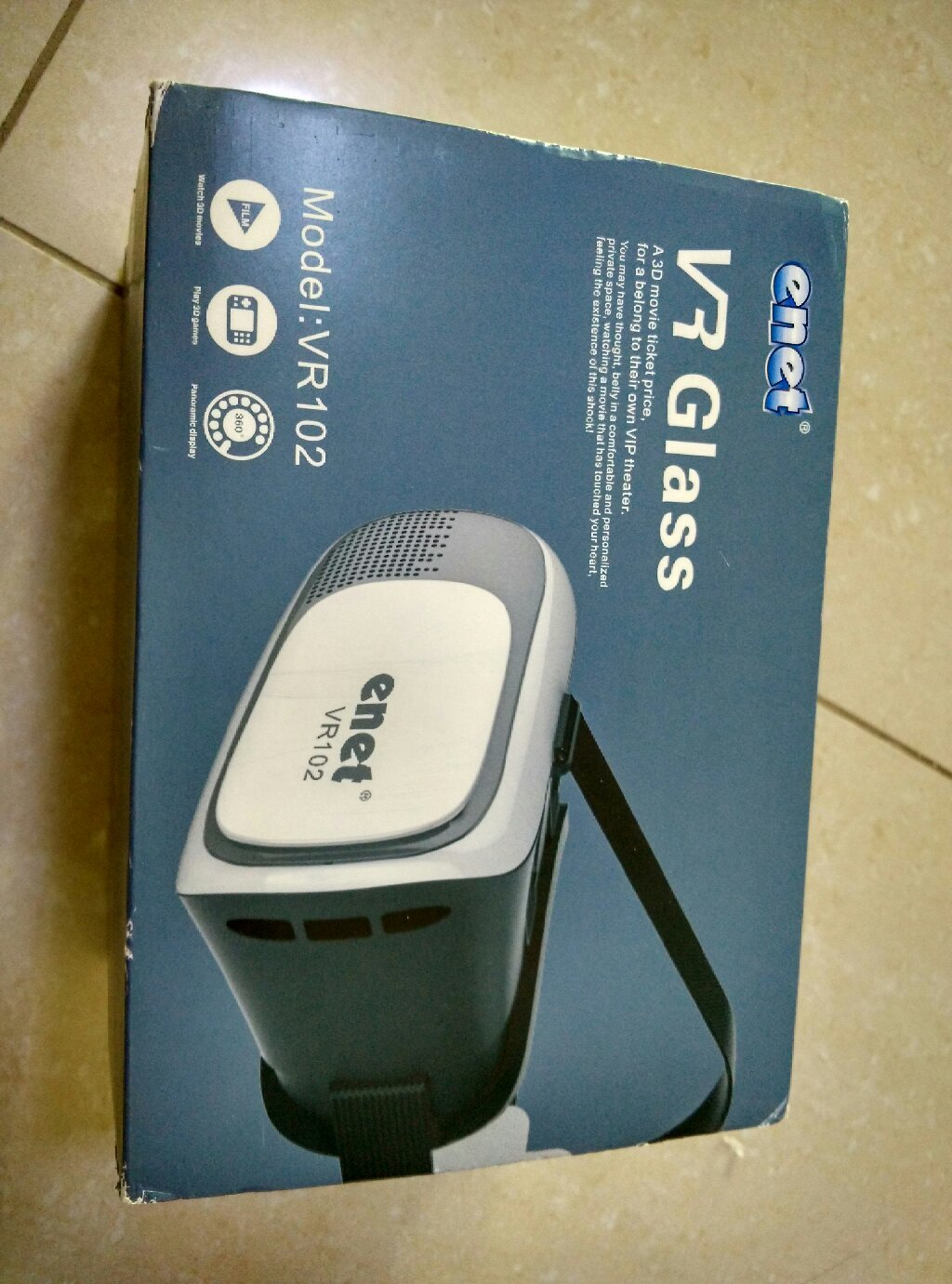 VR Box, never used