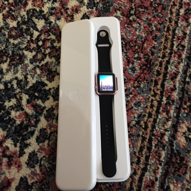 Selling Apple Smart Watch 38MM With Box And Accessories