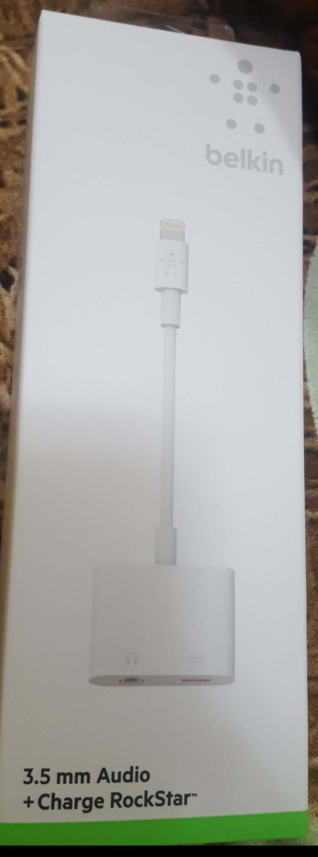 3.5mm audio charger for IPhone
