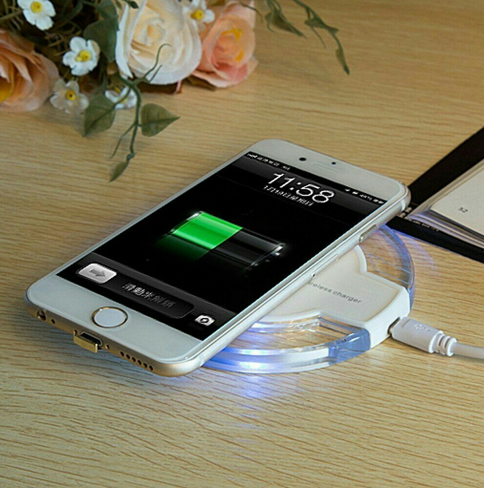 wiresless charger for all iphones very easy to charge