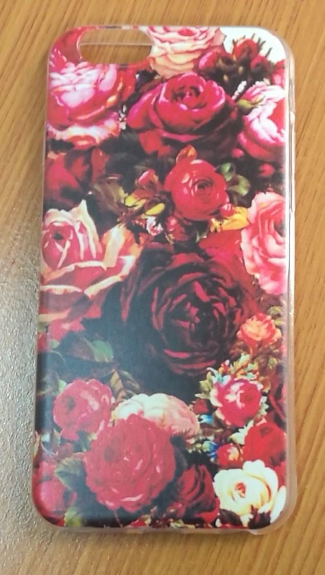 Floral Design Soft TPU For iPhone 6/6s