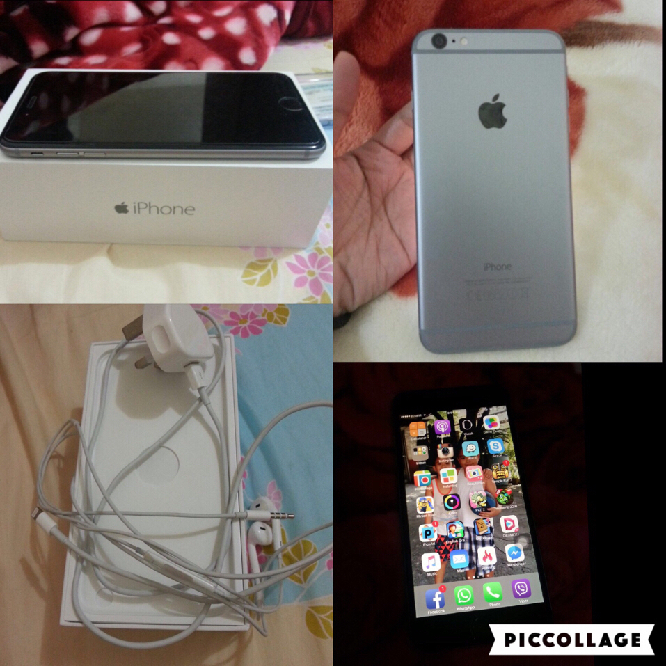 iPhone 6plus 128gb With Box Original Headset And Charger