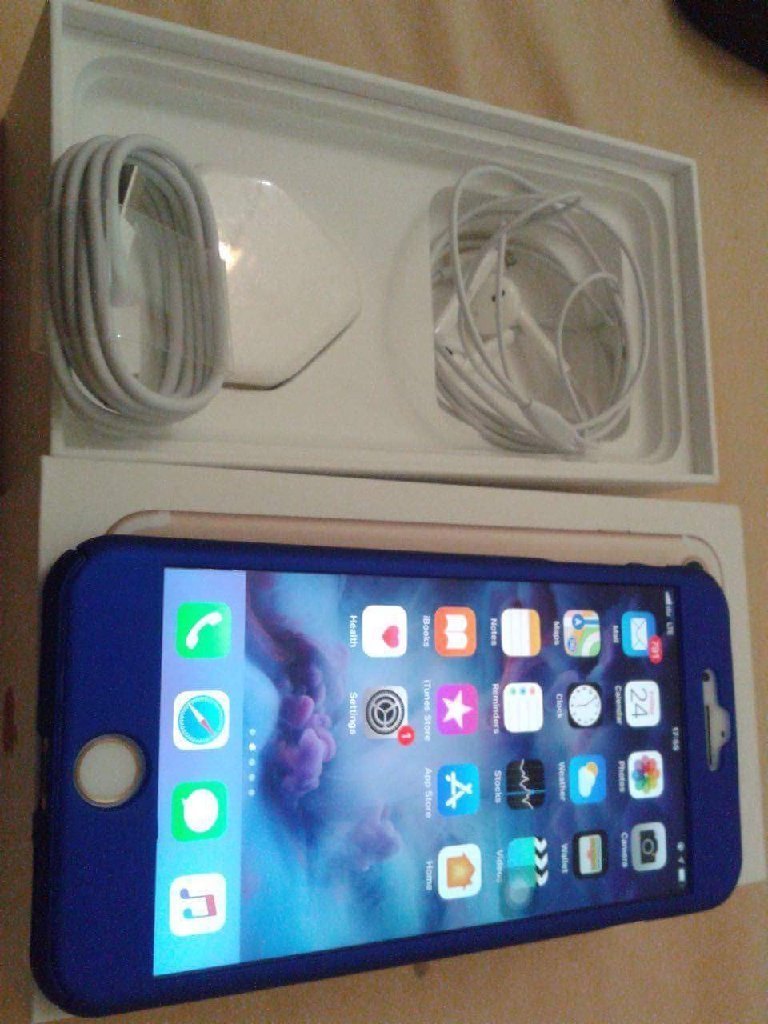 Iphone7plus 128Gb Gold with 5mnth warrnt