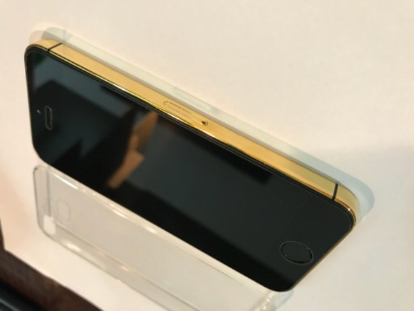 Im selling Iphone 5S gold 24 K