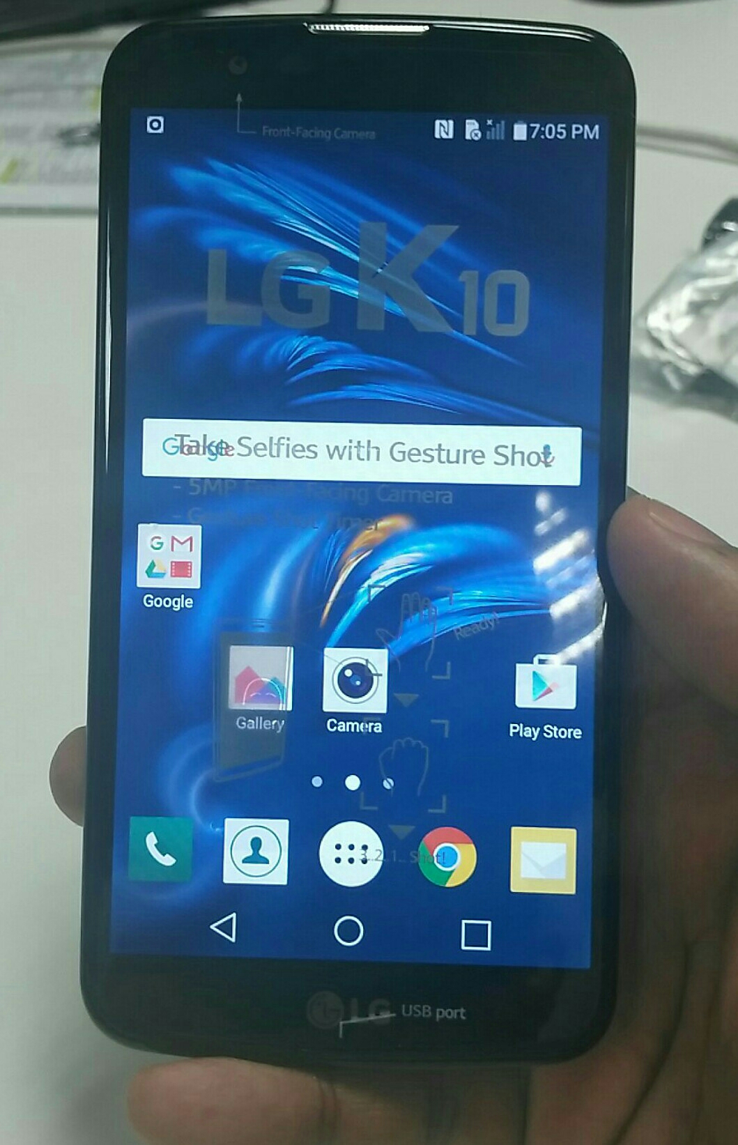 """LG K10 4G 5""""3  13 Mb Camera Brand New Open The Box For Picture For Melltoo"""
