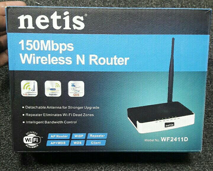 Wireless Router + Repeater (Receive Wifi Signal Without Wire )