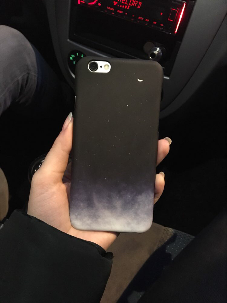 Moon gradient cover for iPhone 7plus