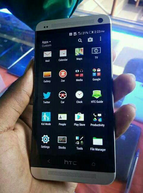 Htc M7 2Gb Ram + 32Gb Used mobile With Not Any accseseri