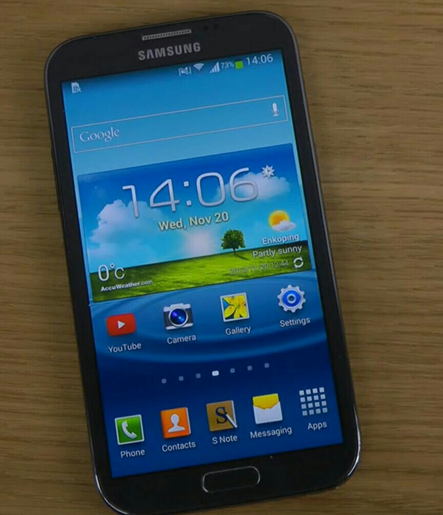Used Samsung Note 2