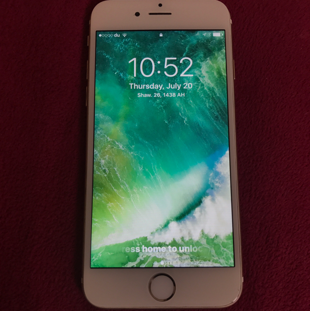 IPhone 6 GOLD. 128GB   COMPLETE BOX