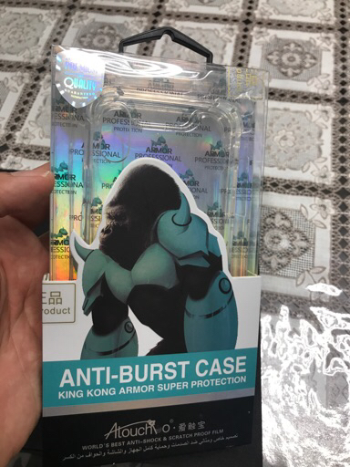 iPhone X Original AntiBurst Case