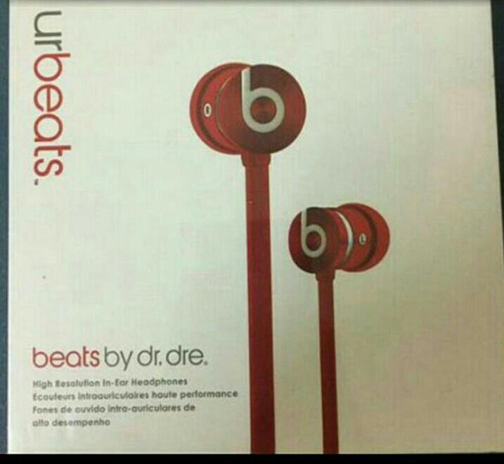 Brand New Beats Earphone Original For Sale (Sealed Pack Never Used Before)