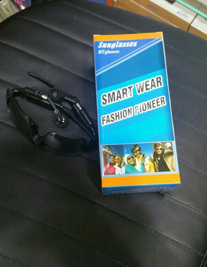 Cool Product For Summer---Bluetooth Sunglasses