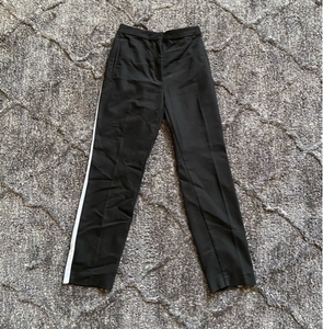 Used Zara Black White Stripe Pants in Dubai, UAE