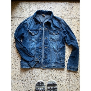 Used Men denim jacket  in Dubai, UAE