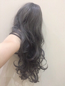 Used Cool grey wig synthetic hair  in Dubai, UAE