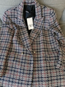 Used Zara New Tweed Blazer size M in Dubai, UAE