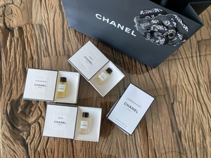Used 4pc of original Chanel testers with bag in Dubai, UAE
