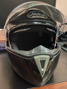 Used XL Jiekai Pro Motorcycle Helmet (New) in Dubai, UAE