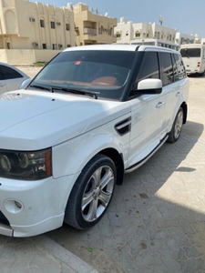 Used Range Rover Sport with Autobiography kit in Dubai, UAE