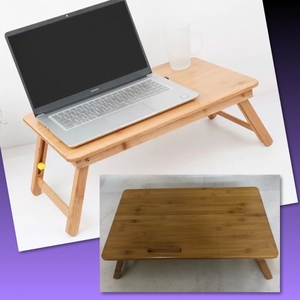 Used MOSO FOLDABLE BAMBOO BED/COMPUTER DESK in Dubai, UAE