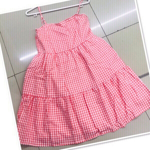 Used Checkered Dress / Medium ♥️ in Dubai, UAE