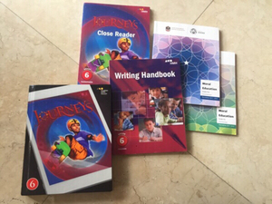 Used New grade 5-6 schools books  in Dubai, UAE
