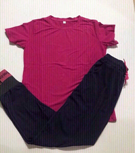 Used Pajama set size large (fits small) new in Dubai, UAE