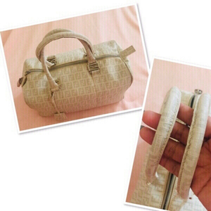 Used Authentic Fendi Zucca Boston bag ♥️ in Dubai, UAE