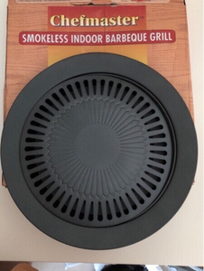 Used Smokless indoor bbq grill plate in Dubai, UAE