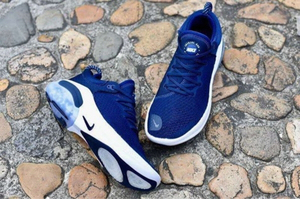Used Nike Joy Ride navy  blue 45 size 40-45) in Dubai, UAE