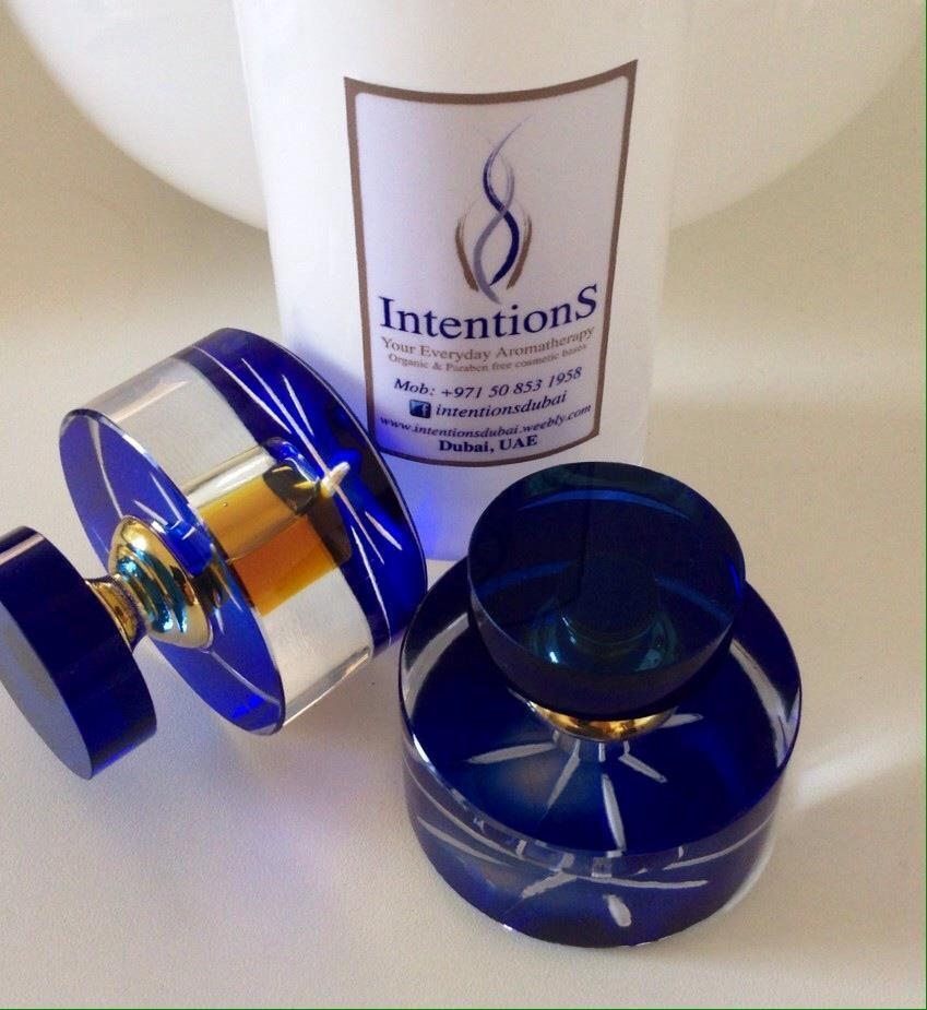 intentions aromatherapy