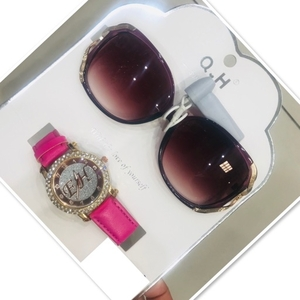 Used Ladies Set Watch & Sunglasses ♥️ in Dubai, UAE