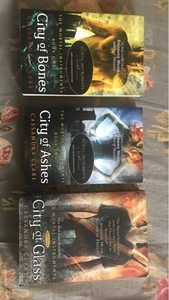 Used the mortal instruments- books 1,2,3 in Dubai, UAE