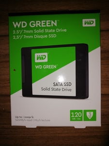 Used Wd ssd 120 gb in Dubai, UAE