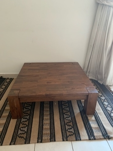 Used Low wooden Coffee table  in Dubai, UAE