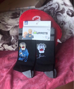 Used New Disney The-Muppets cotton socks🧦🖤 in Dubai, UAE