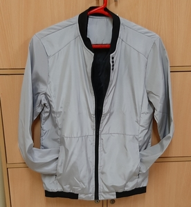 Used Jacket for him, grey ! in Dubai, UAE