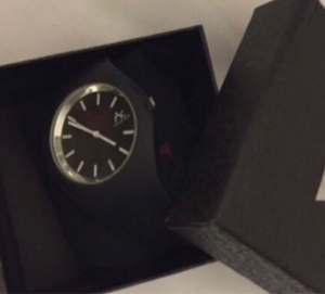 Used Black watch rubber casual brand new  in Dubai, UAE