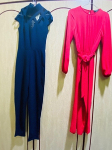 Used 2 Jumpsuits XS with free blouse in Dubai, UAE