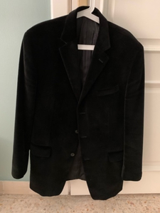 Used Calvin Klein Suede black Vest in Dubai, UAE