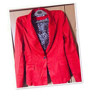 Used Blazer Red/Orange / Small ♥️ in Dubai, UAE