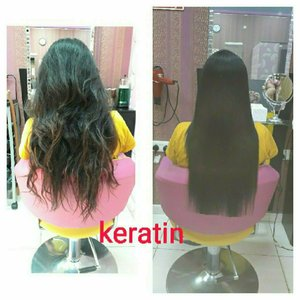 Used keratin treament for all types of hair in Dubai, UAE