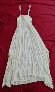 Used Asymmetrical crinckled beach dress in Dubai, UAE