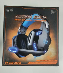 Used KOTION EACH G2000 GAMING HEADSET-BLUE in Dubai, UAE