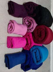 Used Bundle of 7 scarfs with head bands in Dubai, UAE